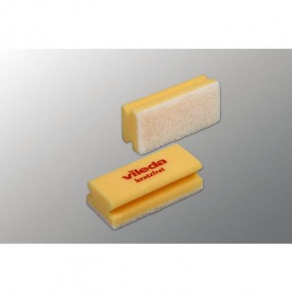 Gąbka z białym padem żółta