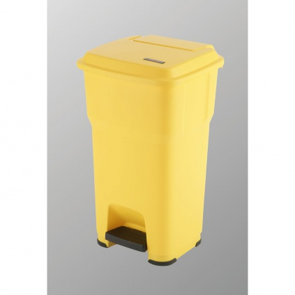 Kosz Hera - 60l żółty