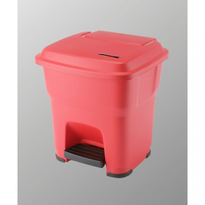 Kosz Hera - 35l czerwony