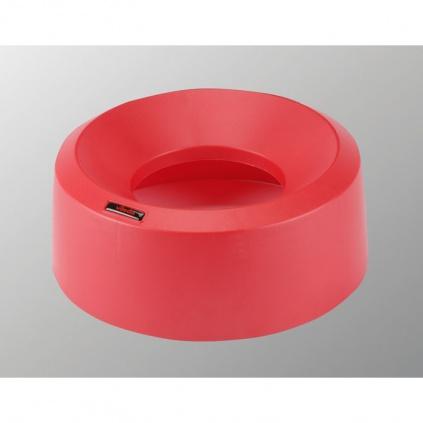 Pokrywa tunelowa Iris okrągły - czerwona
