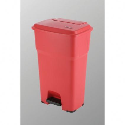 Kosz Hera - 85l czerwony