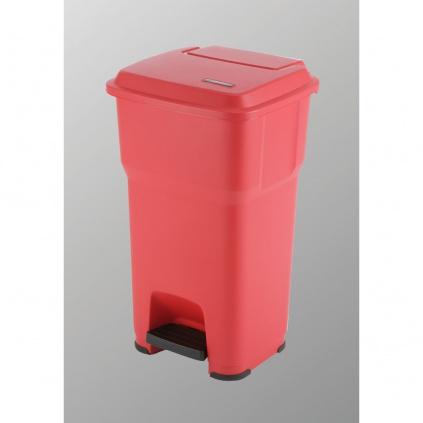 Kosz Hera - 60l czerwony