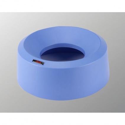 Pokrywa tunelowa Iris okrągły - niebieska