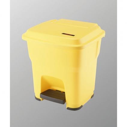Kosz Hera - 35l żółty