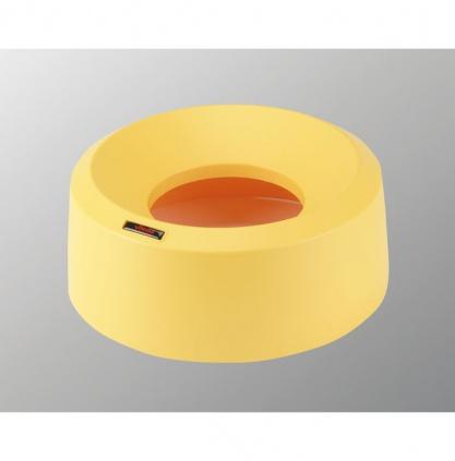 Pokrywa tunelowa Iris okrągły - żółta